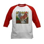D'Uccle Rooster Kids Baseball Jersey