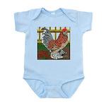 D'Uccle Rooster Infant Bodysuit