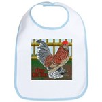 D'Uccle Rooster Bib