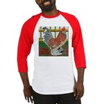 D'Uccle Rooster Baseball Jersey