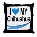 My Chihuahua Throw Pillow