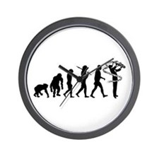 Saxophone Player Wall Clock