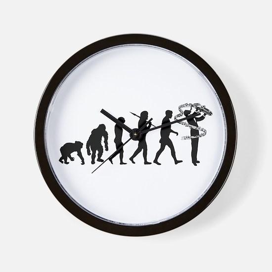 Saxophone Player Wall Clock