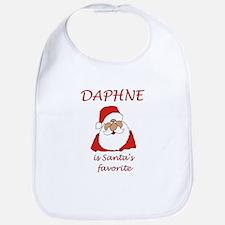 Daphne Christmas Bib