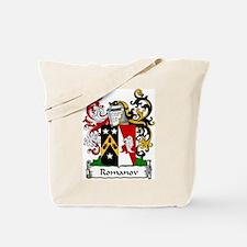 Romanov Family Crest Tote Bag