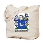 Romanovsky Family Crest Tote Bag