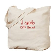 A cappella 100% Natural - Tote Bag