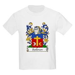 Safonov Family Crest Kids T-Shirt