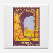 Rome Italy Tile Coaster