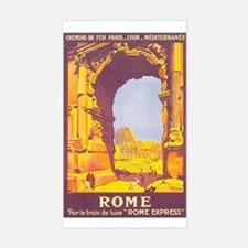 Rome Italy Rectangle Decal