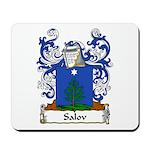 Salov Family Crest Mousepad