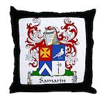 Samarin Family Crest Throw Pillow