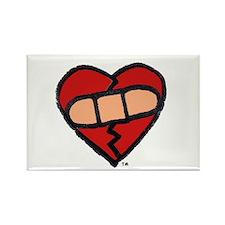 """""""Mended Heart"""" Rectangle Magnet"""