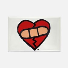 """Mended Heart"" Rectangle Magnet"