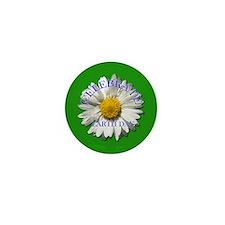 Earth Day Flower Mini Button