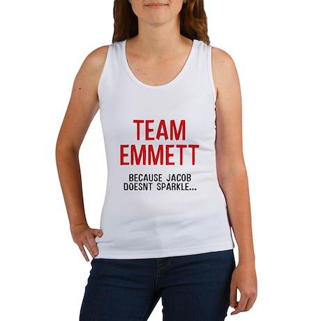 Team Emmett (Red) Women's Tank Top