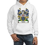 Satin Family Crest Hooded Sweatshirt