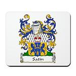 Satin Family Crest Mousepad