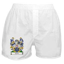 Satin Family Crest Boxer Shorts