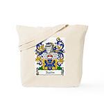 Satin Family Crest Tote Bag
