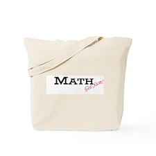 """""""Math: Get Sum"""" Tote Bag"""