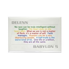 Delenn Quote Combo Rectangle Magnet