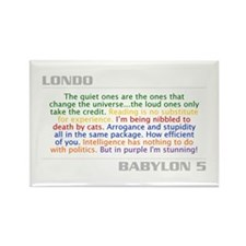 Londo Quote Combo Rectangle Magnet