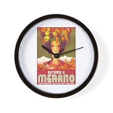 Merano Italy Wall Clock