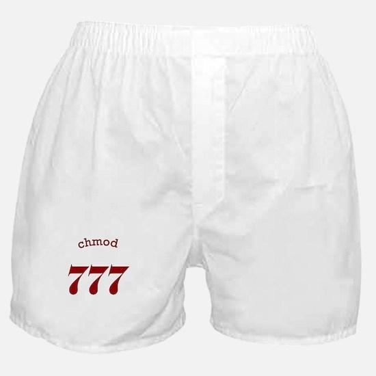 chmod 777 Boxer Shorts