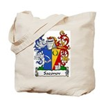 Sazonov Family Crest Tote Bag