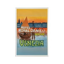 Venice Italy Rectangle Magnet