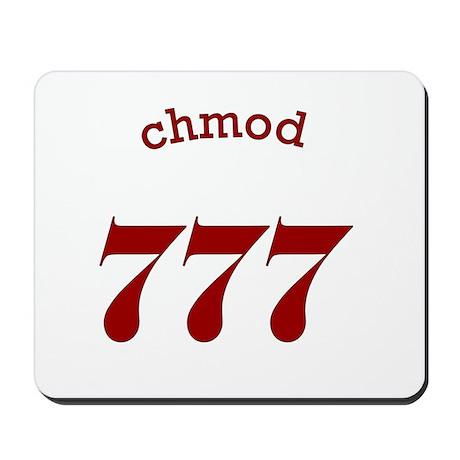 chmod 777 part 2 Mousepad