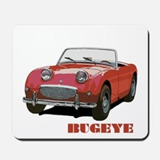 Red Bugeye Mousepad