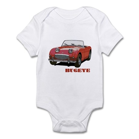 Red Bugeye Infant Bodysuit