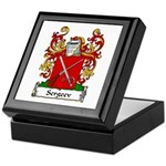 Sergeev Family Crest Keepsake Box