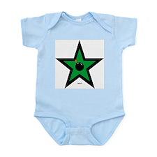 Green Star Infant Creeper