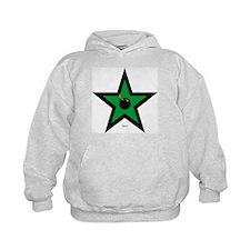 Green Star Hoodie