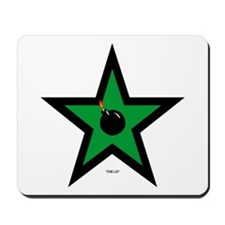 Green Star Mousepad