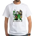 Shamin Family Crest White T-Shirt