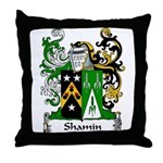 Shamin Family Crest Throw Pillow