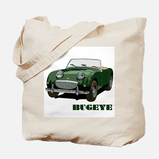 Green Bugeye Tote Bag