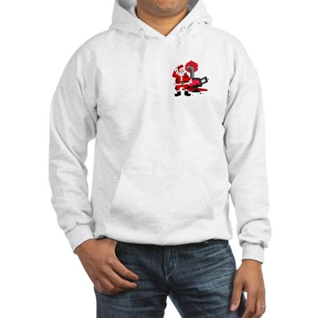 Santa Claus & Chimney Hooded Sweatshirt