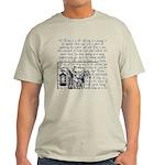 Tarot Key 9 - The Hermit Light T-Shirt