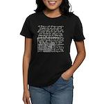 Tarot Key 9 - The Hermit Women's Dark T-Shirt