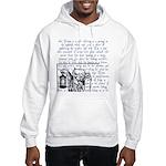 Tarot Key 9 - The Hermit Hooded Sweatshirt