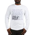 Tarot Key 9 - The Hermit Long Sleeve T-Shirt