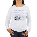 Tarot Key 9 - The Hermit Women's Long Sleeve T-Shi