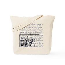 Tarot Key 9 - The Hermit Tote Bag