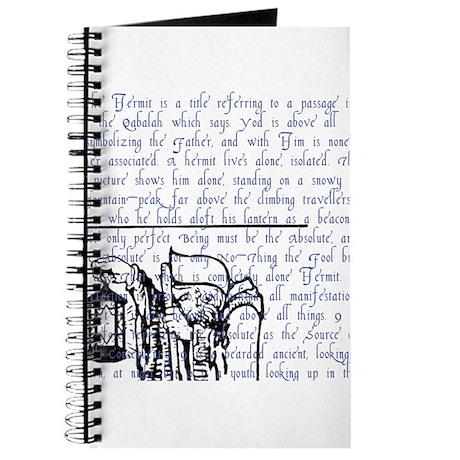 Tarot Key 9 - The Hermit Journal