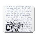 Tarot Key 9 - The Hermit Mousepad